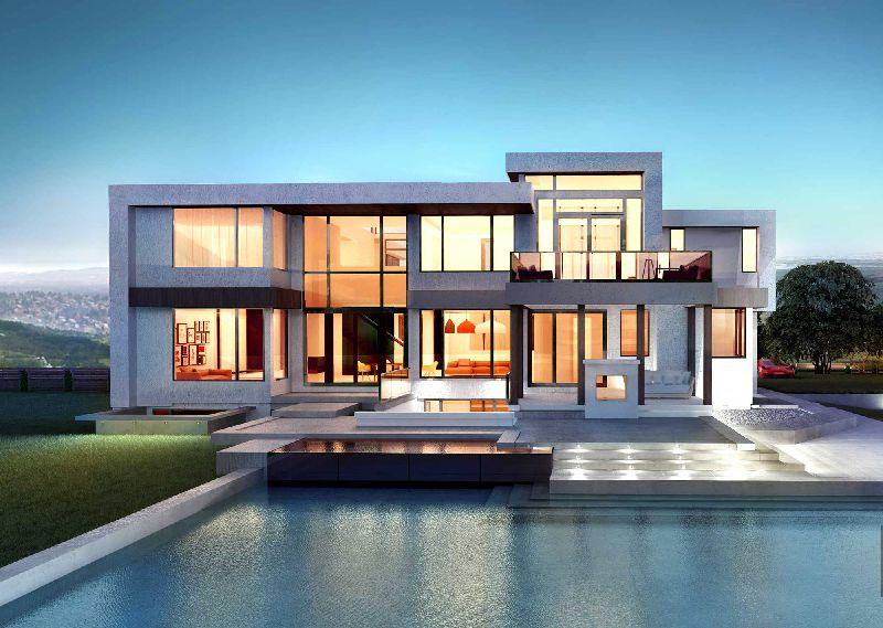 Casa de lujo, Infografia 3d