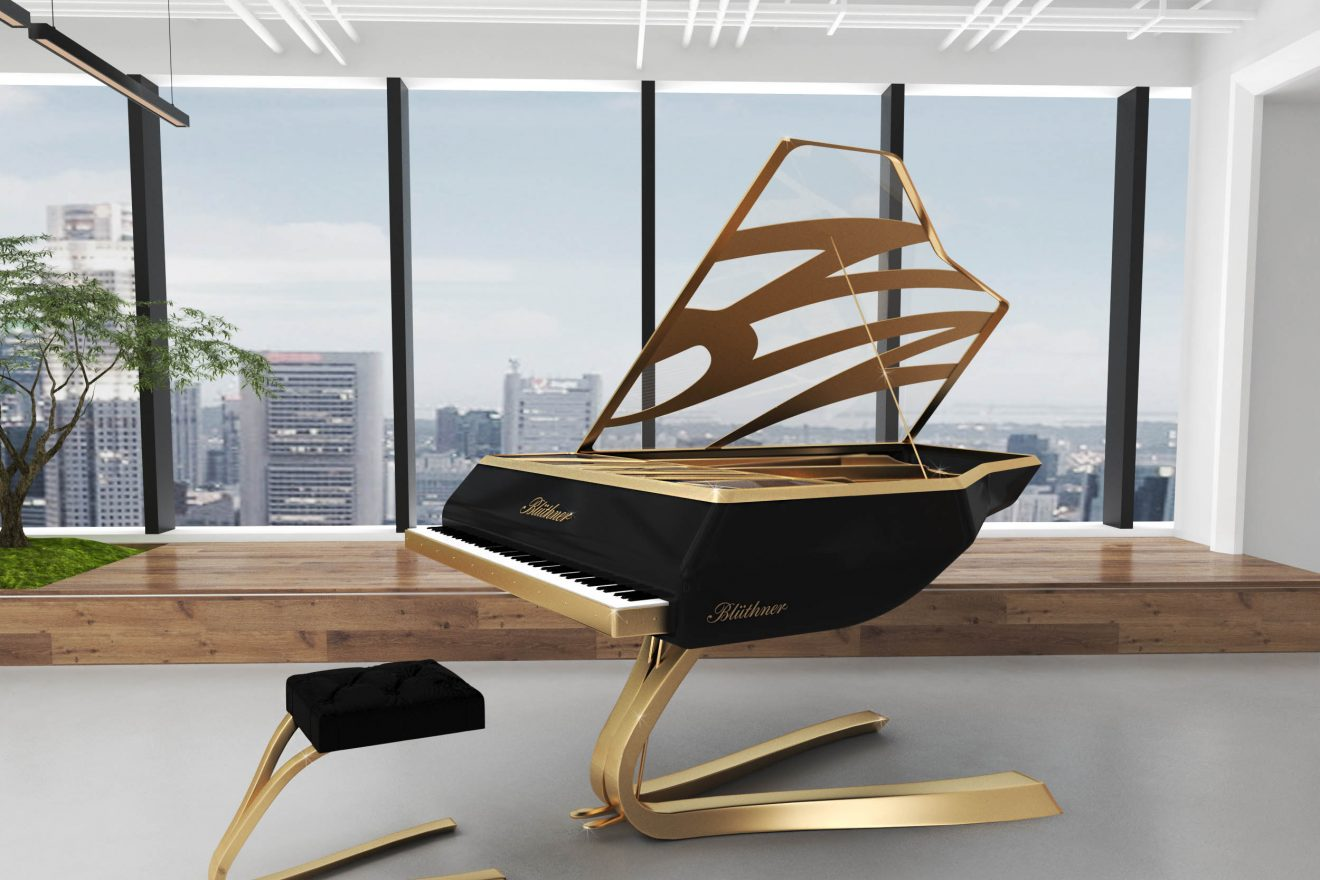 Proyectos 3D diseño de piano