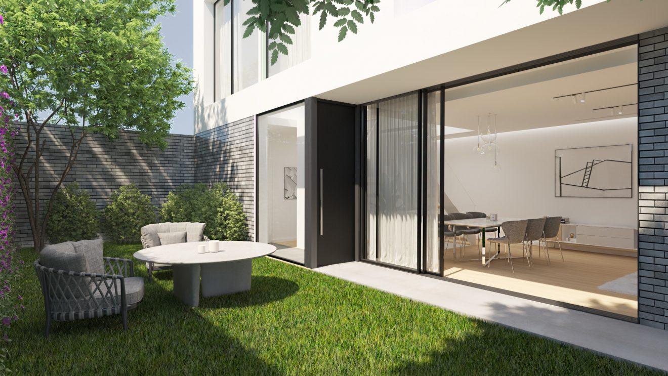 Casa familiar nueva promocion con Infografía 3dOJO