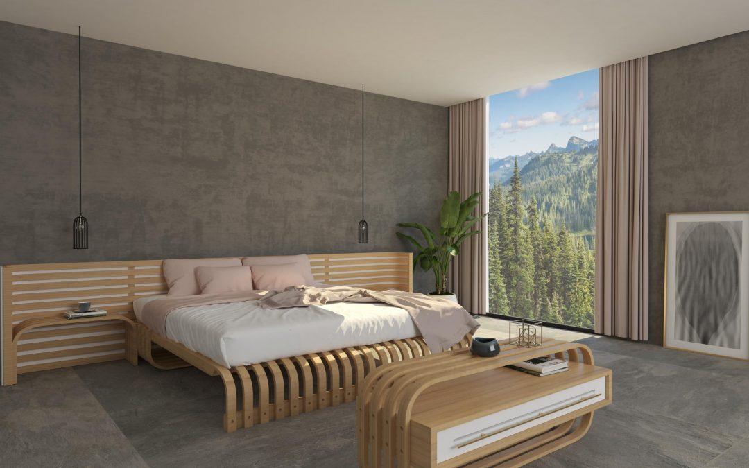 Diseño 3D de muebles para hotel de Tenerife