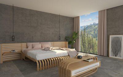 3D дизайн на мебели за хотел в Тенерифе