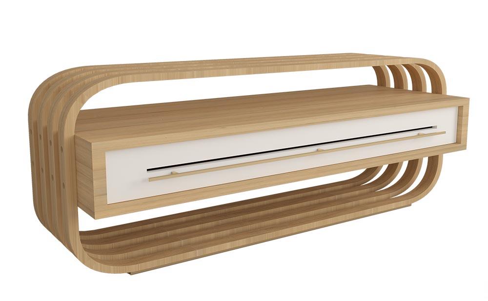 Modelado 3D de mobiliario