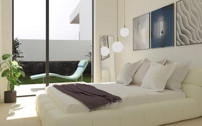 3D визуализация на спалня