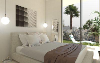 Визуализация на спалня в 3D