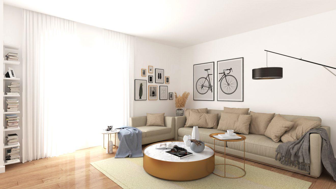 Diseño 3D de interior en Madrid