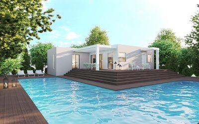 Деревянный дом / Лучшие цены на 3D-визуализация в Испании