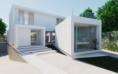 Casa de lujo 3D, para un arquitecto de Madrid