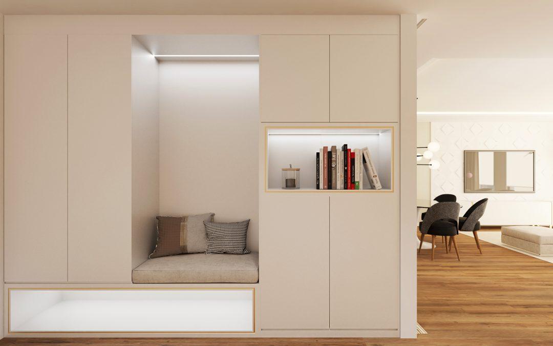 Interiorismo con Infografía 3D en Madrid