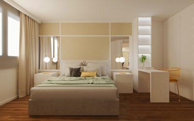 Proyecto de dormitorio, Infografía 3d