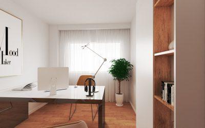 Interiorismo 3D de piso en Madrid