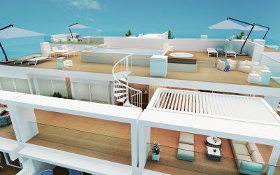 Infografías arquitectónicas de 3D OJO