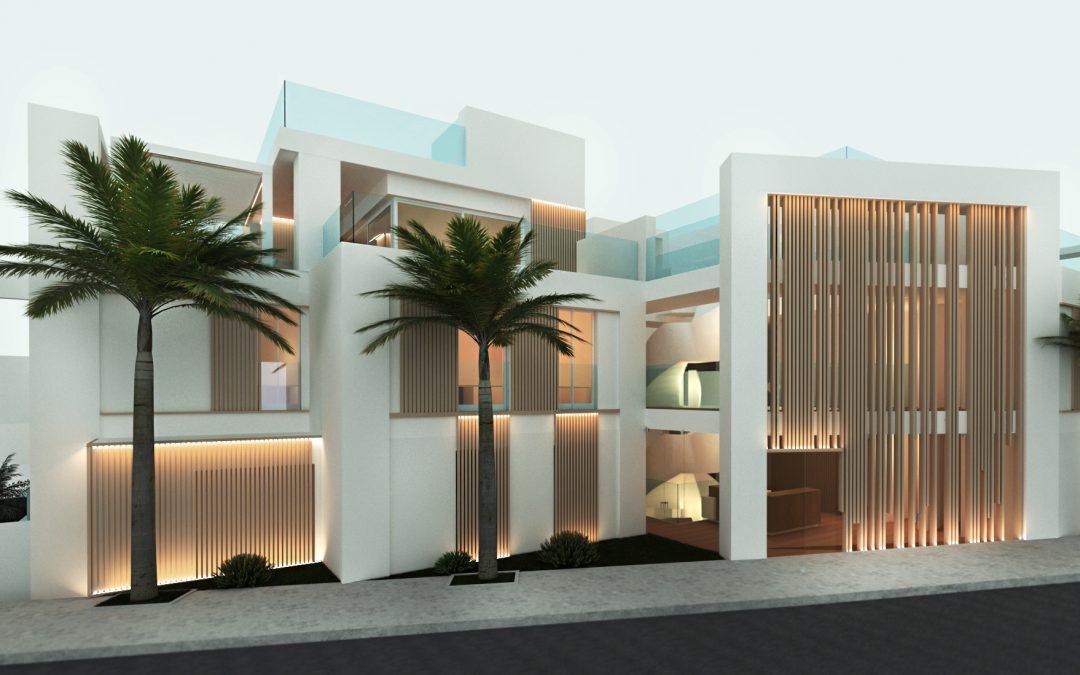 Infografía 3D de Edificio