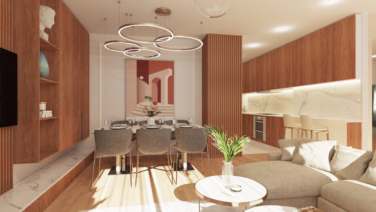 Renders de interiores 3D