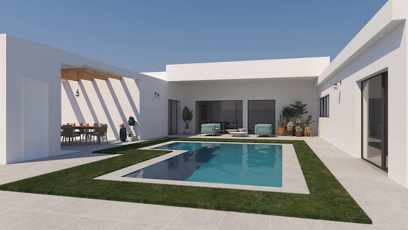 Render 3D arquitectónico