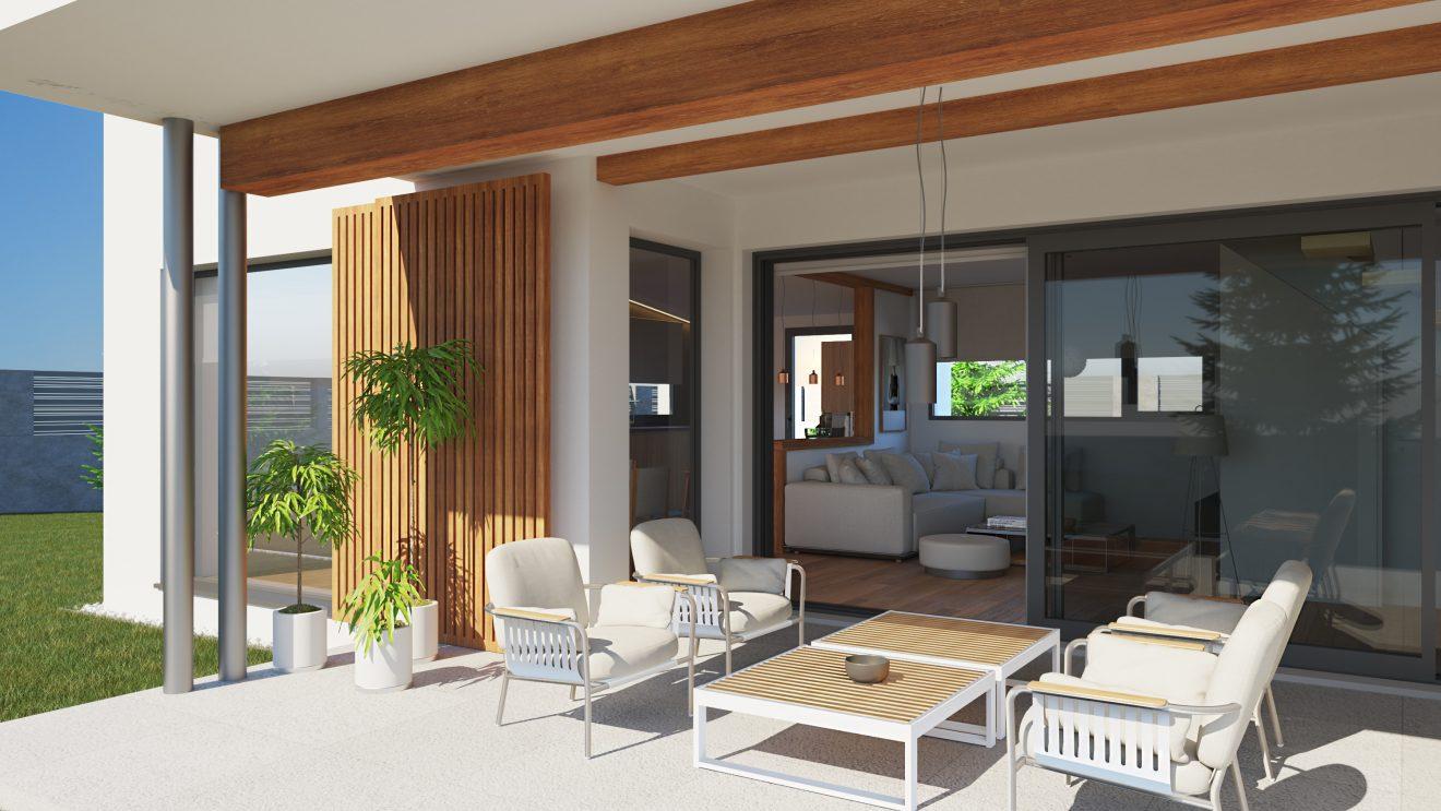 Casas de madera 3d