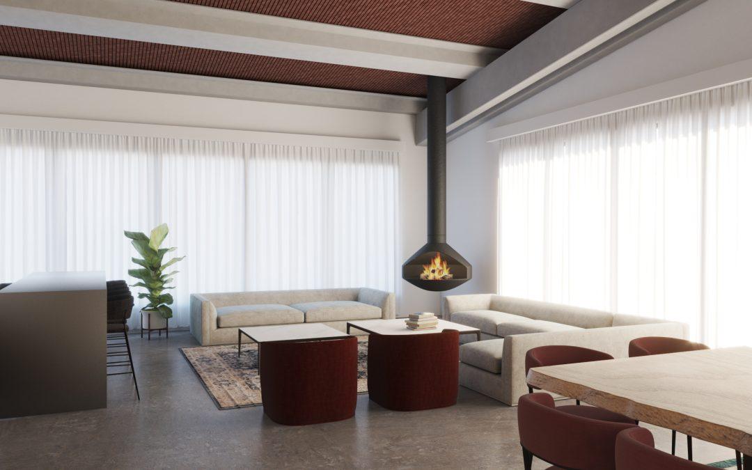 Renders 3D para Interiorismo Barcelona