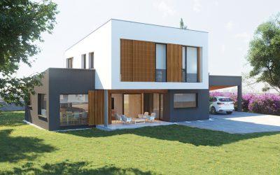 Proyectos 3D de Casa de Madera