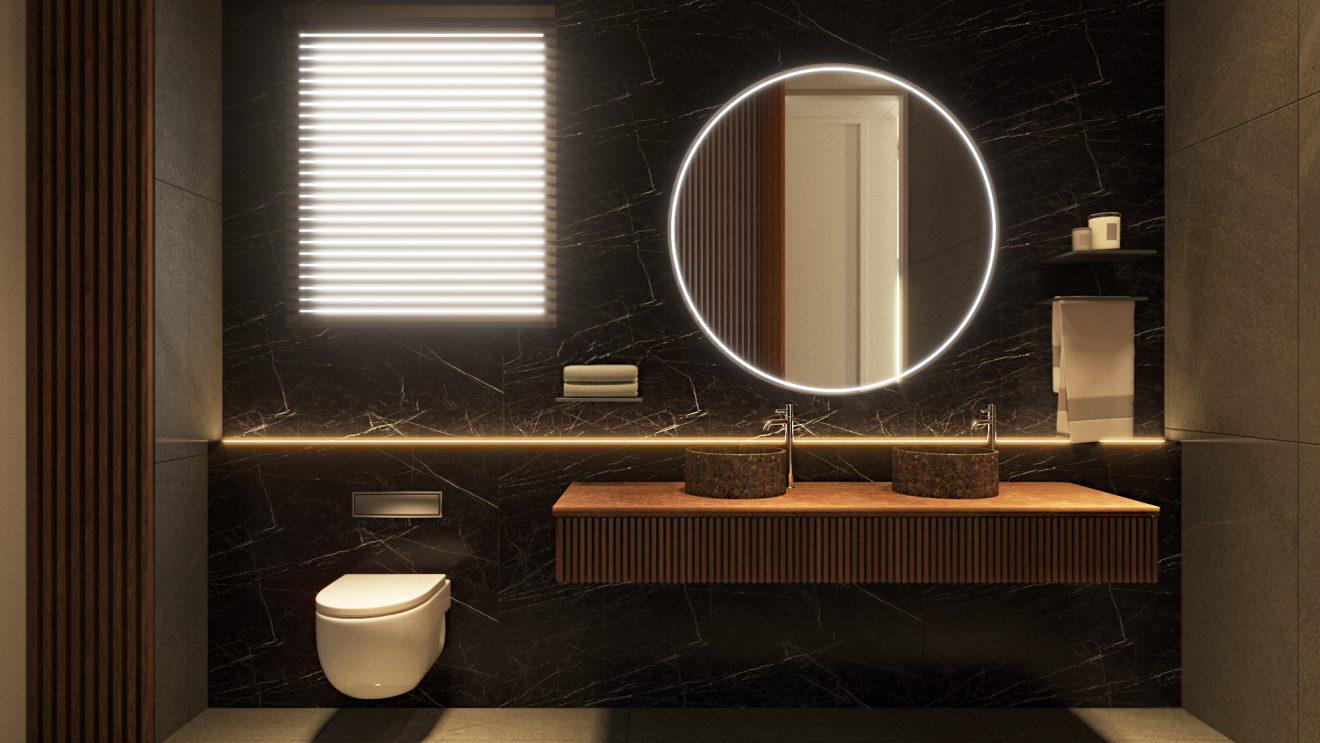 Renders 3D baño