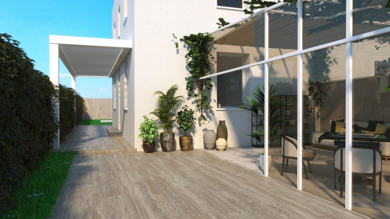 Renders 3d para inmobiliarias en Madrid exterior