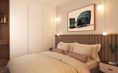 Apart Hotel Interior design and 3d rendering