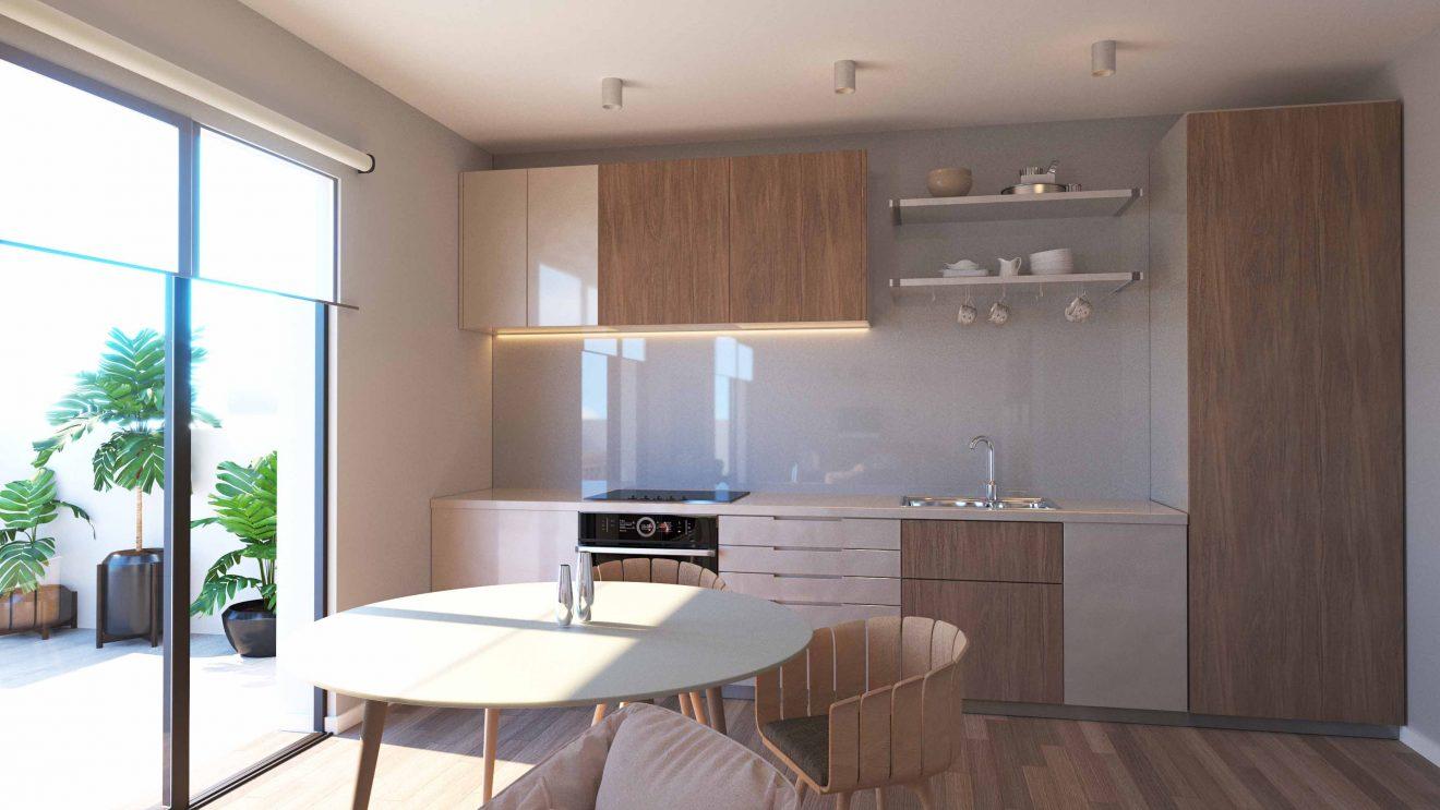 Proyecto 3D de cocina