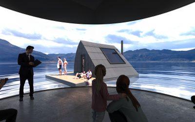 Infografía 3d concurso de Arquitectura en Noruega