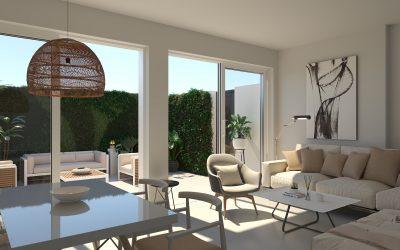 Infografías 3d de chalet para inmobiliaria